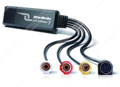 USB ghi hình Video, S-video AverMedia C039